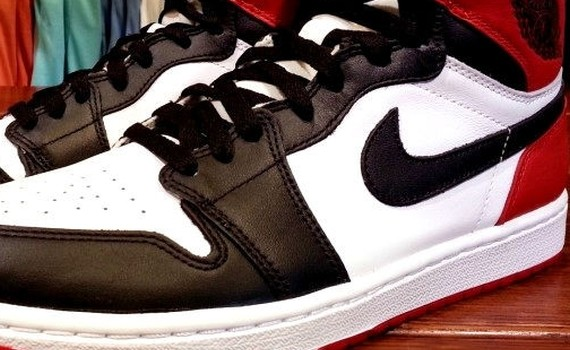 "Ballislife | Air Jordan I ""Black Toe"""