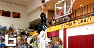 Mason Plumlee & Angelo Sharpless Put on Dunk Clinic During 2013 ACC Barnstorming Tour