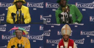 Conan O'Brien: More Insane NBA Press Conference Fashion
