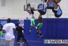 Rapper, The Game, throws alley-oop to Kwame Alexander