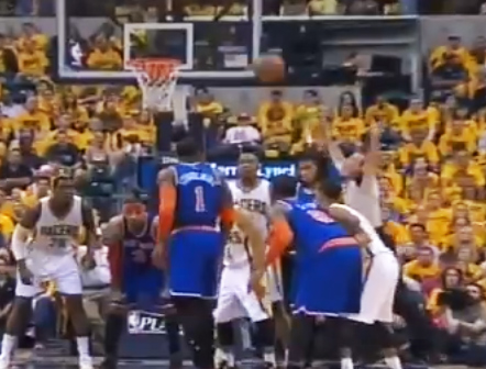 Ref throws one of the worst jump balls ever in GM6 Pacers/Knicks | Jump Ball FAILS