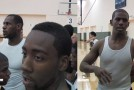 Before they were NBA Stars: LeBron &#038; Chris Paul give a speech to a beardless James Harden &#038; young Steph Curry