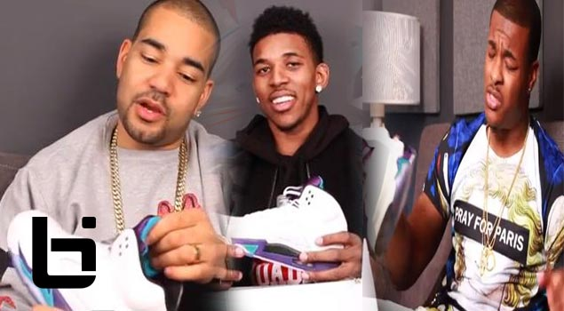 Nick Young & Marcus Gilchrist Talk Air Jordan V Grapes