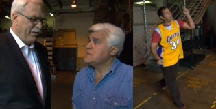 Phil Jackson compares Kobe & Jordan on Jay Leno | Kobe isn't competitive off-the-court