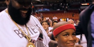 Mayback Music Mini-Film: Rick Ross &#038; Son attend Heat/Bulls Game
