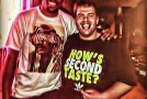 "Kevin Durant poses with fan wearing t-shirt that says ""How's Second Taste"""