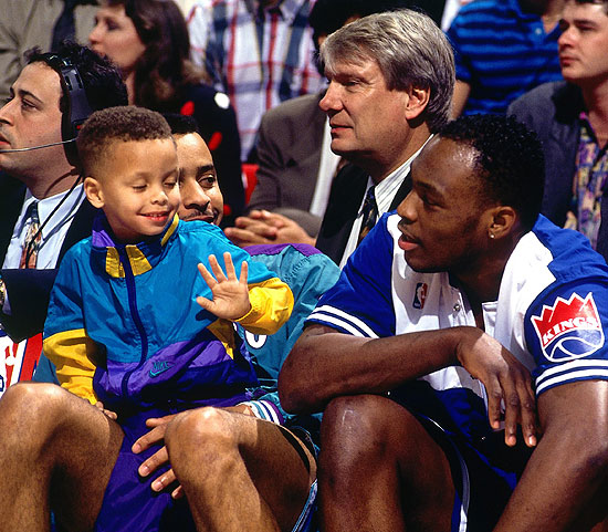 stephen-curry-dell-curry-don-nelson-mitch-richmond