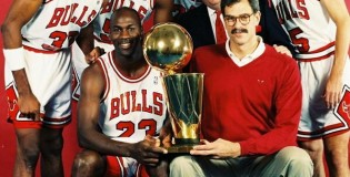 Sneaker Pic of the Day: Phil Jackson and the Bulls
