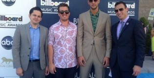 Chandler Parson's goes to the Billboard Awards to watch Miguel kick a fan in the head