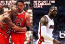 Jordan's Flu Game vs LeBron's Without The Headband Game