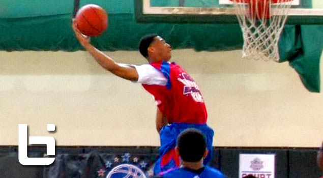 Chris McCullough Athletic Forward Shines at Pangos All American