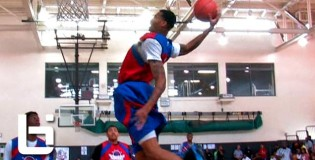 Chris McCullough KILLS The Nasty Reach Back Oop! + Emmanuel Mudiay Catches Reverse Oop!