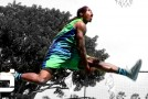 Kwame Alexander Is A FREAK of Nature! Wins Los Angeles Sprite Slam Dunk Showdown!