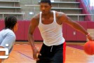 6'4″ Marcus Smart- Makes It Look TOO EASY!! Colleges TOP PG Running Through An Open Gym!