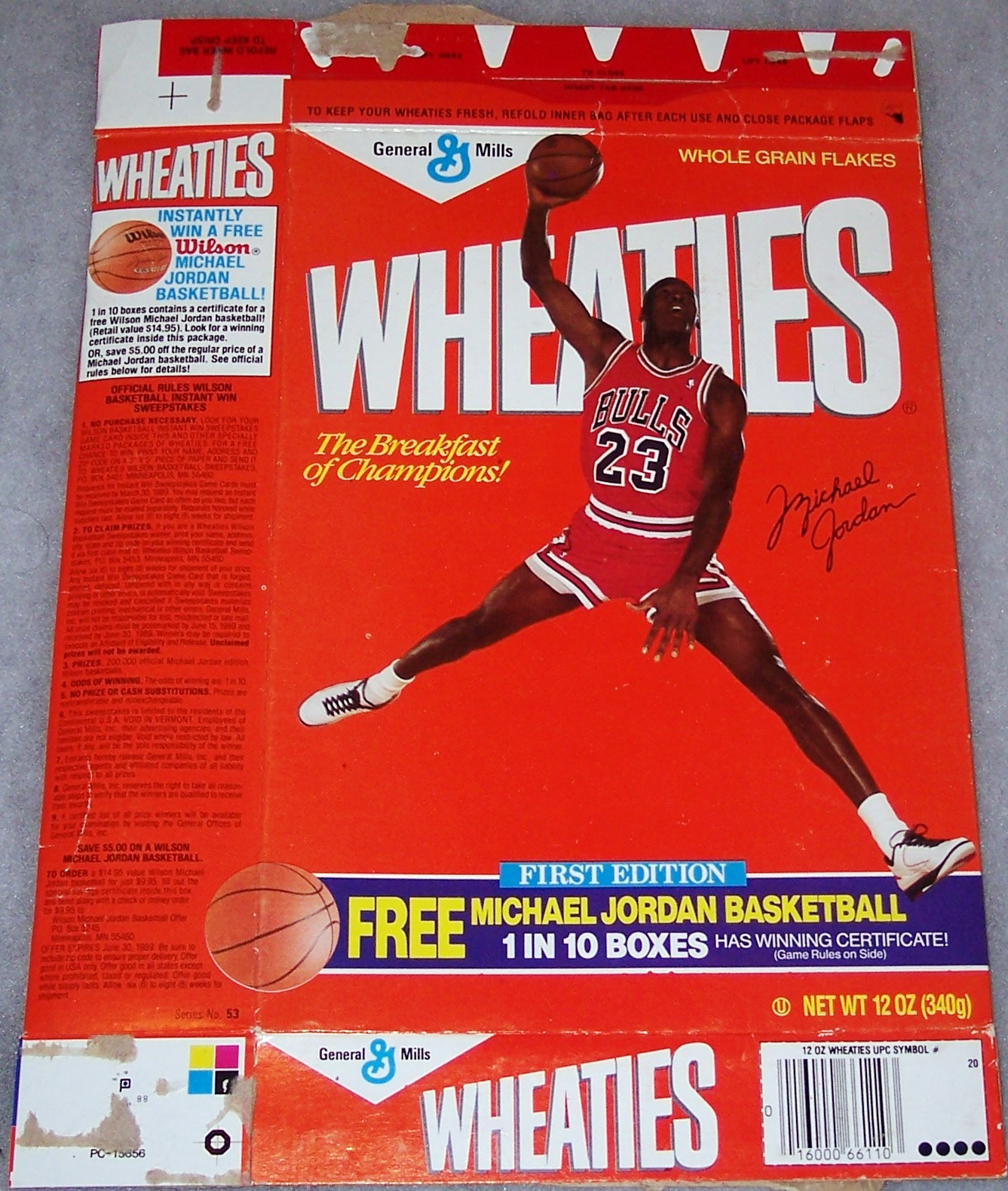 ee7502eba984 Breakfast for Sneakerheads + Michael Jordan s Best Wheaties ...