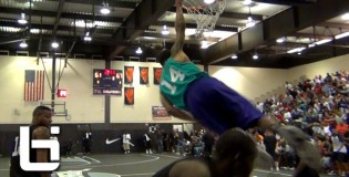 5'10 Keifer Sykes NASTY In-Bounds Oop ALL OVER The Defender at Jordan/Nike Chi-League Pro Am!