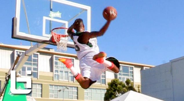 CRAZY Dunks at BET Sprite Dunk Exhibition! Chris Staples, Werm, Sir Isaac, Young Hollywood & Los!