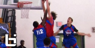 Stephen Zimmerman Dunks ALL Over 6'10 Defender at 2013 Pangos All American Camp!