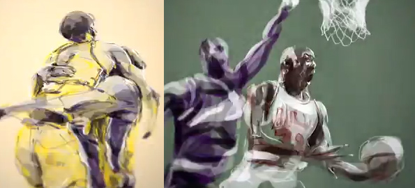 Art of the Day – NBA Finals Animated Montage