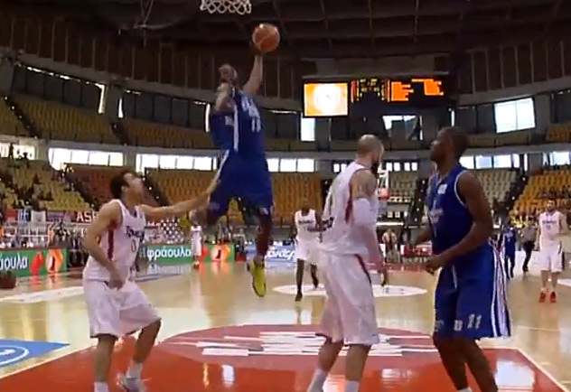 """Dunk of the Day: Brent """"Air Georgia"""" Petway fastbreak dunk in Greece"""