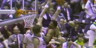Rare Dr J highlights vs the Jazz from 1980-1986 | Monster dunk on 7'4″ Mark Eaton