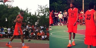 Kevin Durant puts on a show at Goodman League | Best crossovers, 3s & dunks