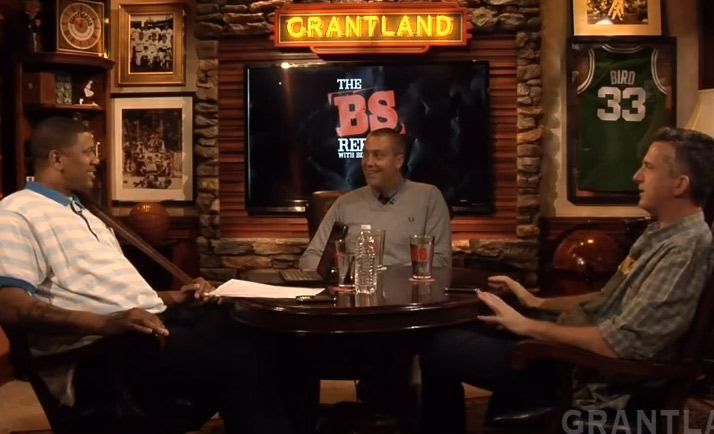 Jalen Rose, Bill Simmons & David Jacoby 45 minute round table about the NBA Playoffs