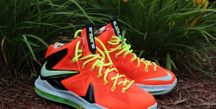 *New* Nike Lebron X Ps Elite Total Crimson