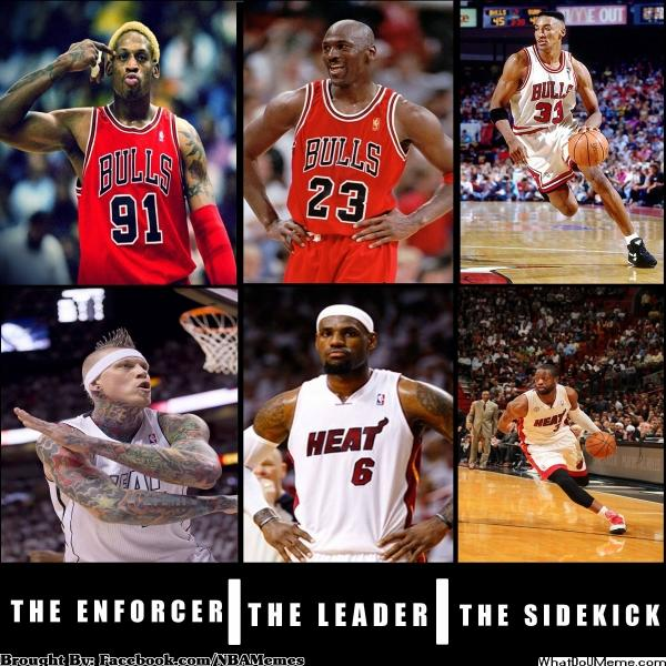 Heat vs Bulls – The Enforcer | The Leader | The Sidekick