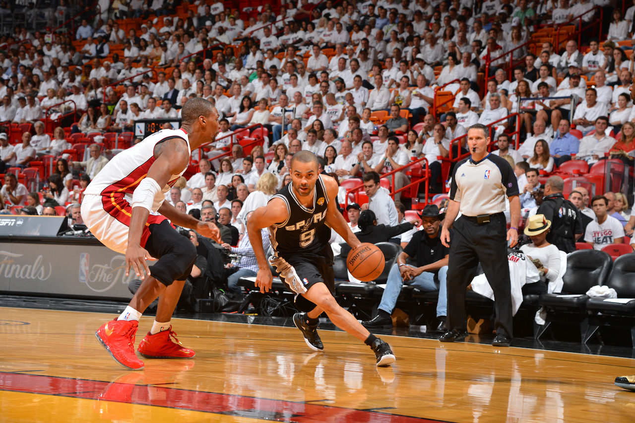 The Best pics of Game 1 of the 2013 NBA Finals: Heat vs Spurs
