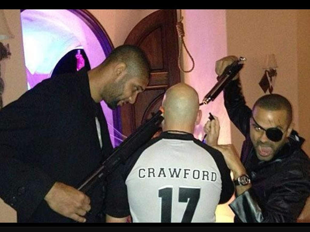 Don't shoot! Joey Crawford will ref Game 2 of the Finals