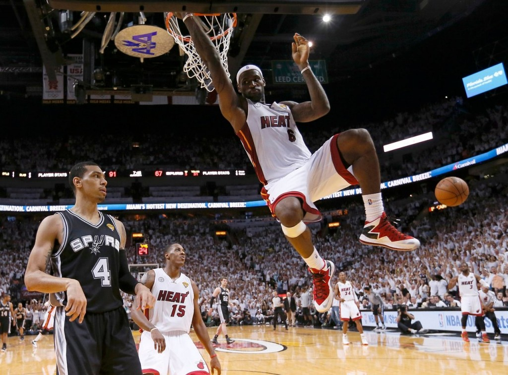 The Best pics from Game 2 of the 2013 NBA Finals: Heat vs Spurs