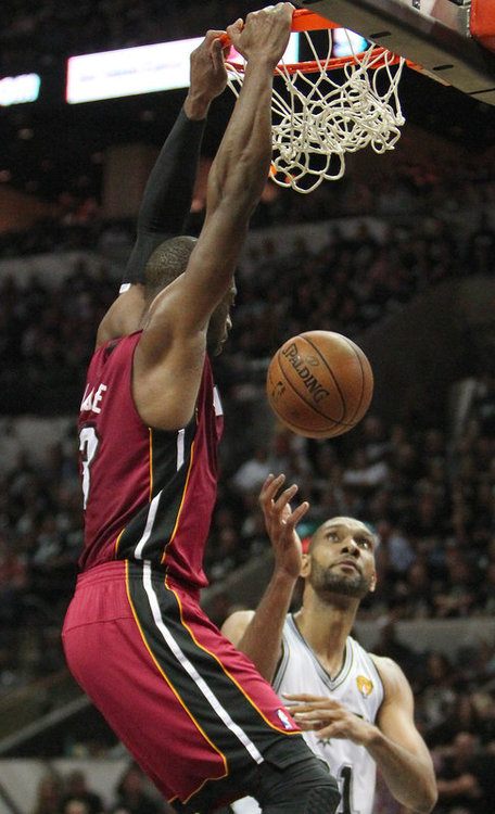 The Best pics from Game 3 of the 2013 NBA Finals: Heat vs Spurs