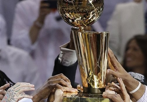 Larry O'Brien NBA Championship Trophy