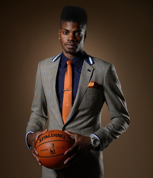 2013 NBA Draft Photoshoot | Help Nerlens Noel pick a suit for the Draft