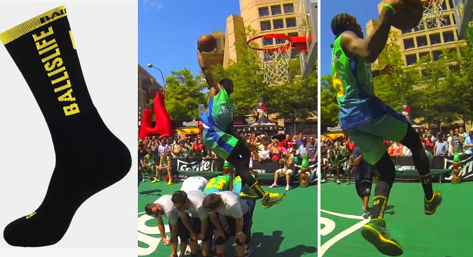 Werm wins 4th Showdown Dunk Contest – it must be the socks!