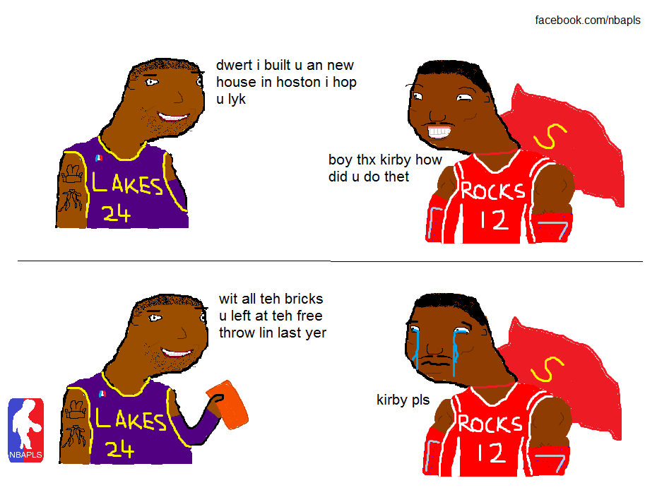 LOL of the Day: Kobe built Dwight Howard a House in Houston
