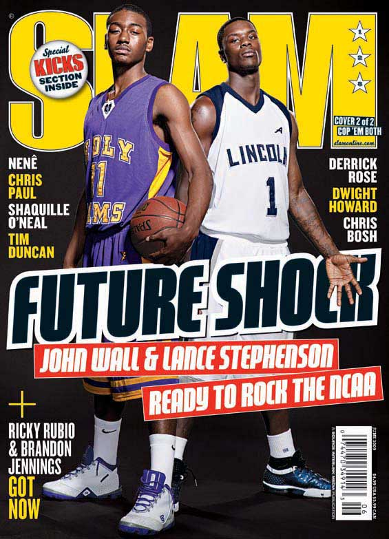 Ballislife | Slam Cover HS Lance Stephenson and John Wall
