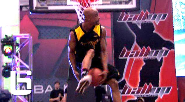 Ballislife | Air Up There 360 Eastbay dunk