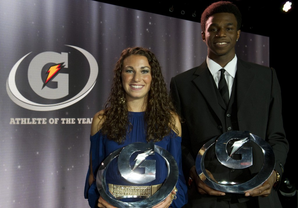 Andrew Wiggins named Gatorade Athlete of the Year