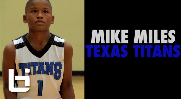 Mike Miles Ballislife Mix | 5th Grade Phenom with Game