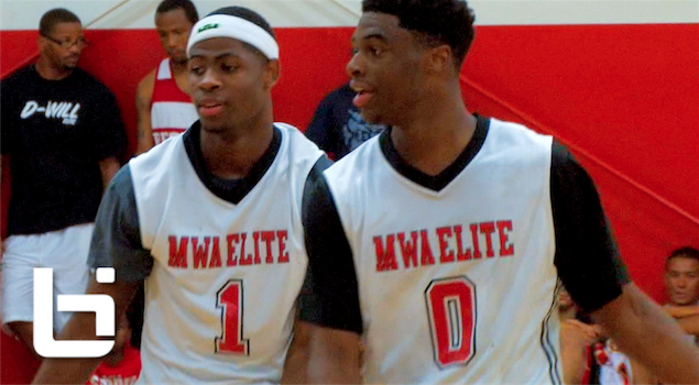 Emmanuel Mudiay & Malik Newman | Best Duo in AAU Basketball