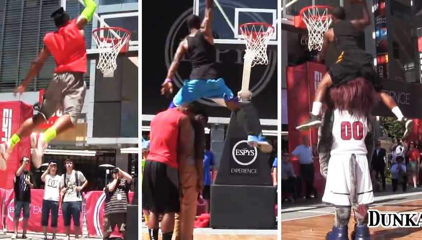 5'5 Porter Maberry wins ESPYs dunk contest