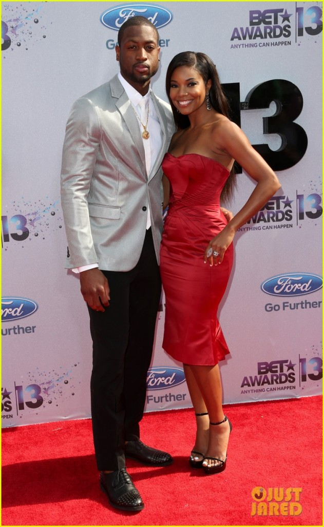 gabrielle-union-dwyane-wade-bet-awards-2013-red-carpet-01