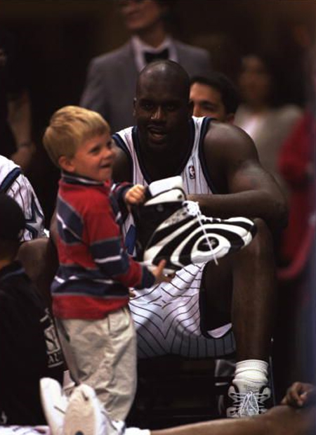 volume large search for genuine classic fit Ultimate Tribute to the Shaq Reebok Shaqnosis sneakers & one ...