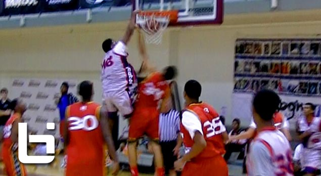 Ty Charles Destroys Defender on Put-back at Buzzer at Reebok Breakout Classic