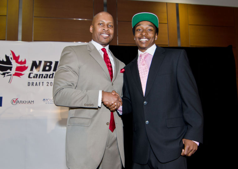 2013 National Basketball League of Canada Draft | NC State's Alex Johnson #1 pick