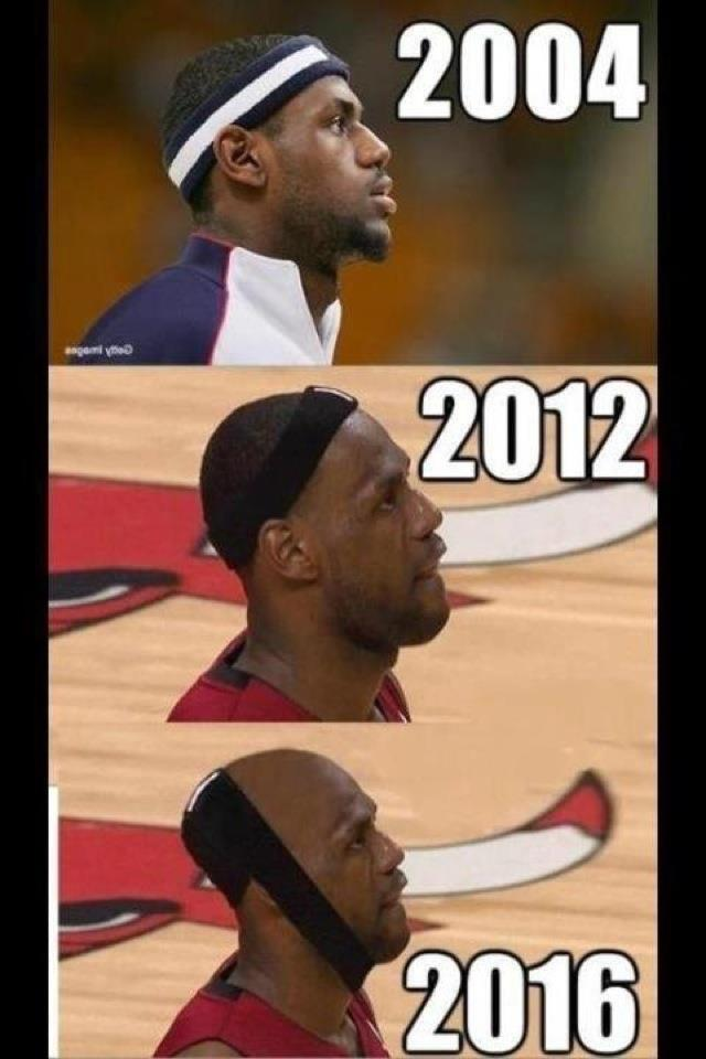 Lebron-hairline-Meme-and-Miami-Heat-Joke