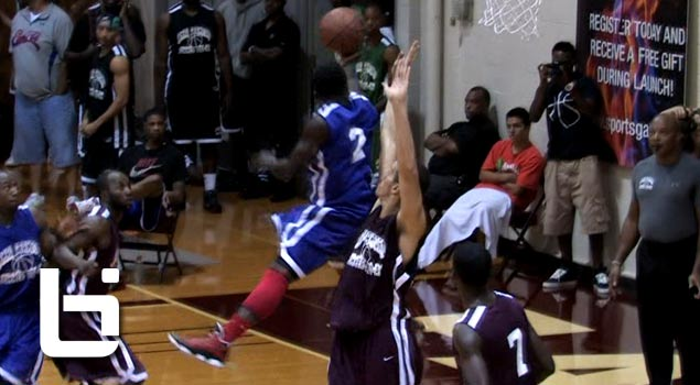 Seattle Native Nate Robinson 360 Layup + Puts through Defenders Legs at Pro Am