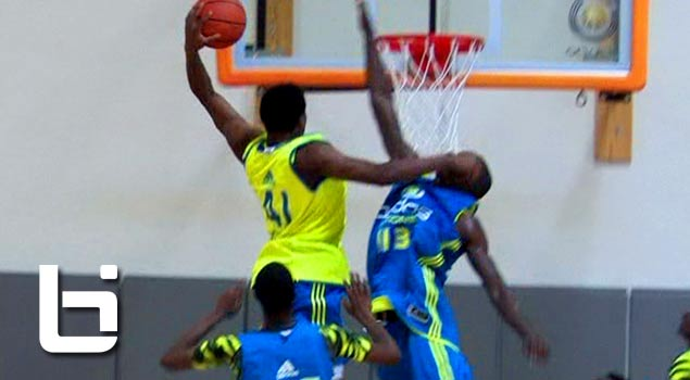 Adidas Nations: Justise Winslow Dunks on Defender